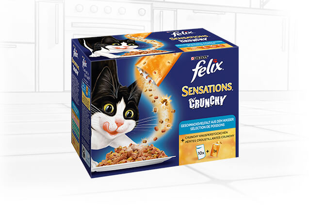Sensations Crunchy pour chat