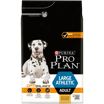 ​PURINA® PRO PLAN® LARGE ATHLETIC ADULT AVEC OPTIBALANCE™ RICHE EN POULET