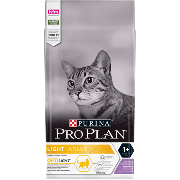 ​PURINA® PRO PLAN® Light Adult avec OPTILIGHT® - Riche en Dinde