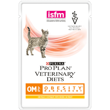 PURINA® PRO PLAN® VETERINARY DIETS Feline OM St/Ox Obesity Management (Nass)