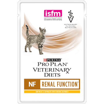 ​PURINA® PRO PLAN® VETERINARY DIETS Feline NF St/Ox Renal Function (Huhn)