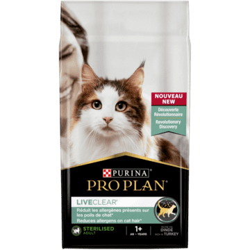 PURINA® PRO PLAN® LIVECLEAR® Sterilised Adult 1+ Riche en Dinde - Nourriture pour chat